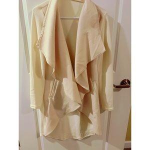 Jackets & Blazers - Cream Sweater - Worn Once